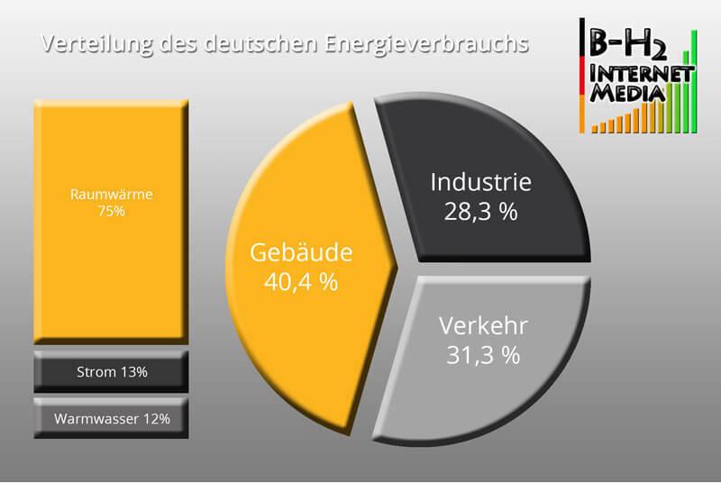 Verteilung des deutschen Energieverbrauchs