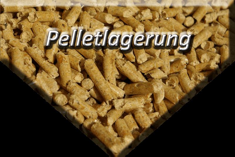 Pelletlagerung, Pelletlager, Pelletsilo und Pellet-Erdtank