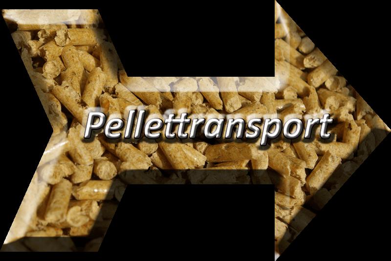 Pellettransport - Saugsystem - Pellet Förderschnecke - Pfeil auf Pellets. Klick zu Pellettransport