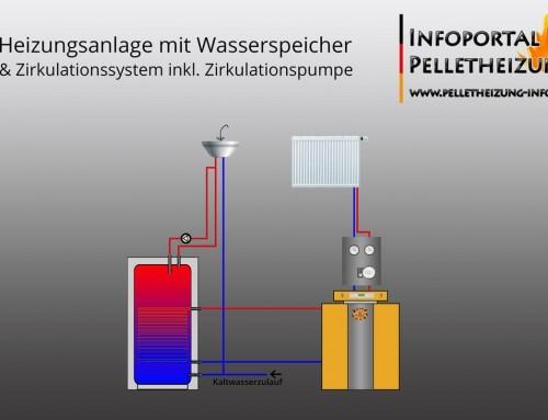 Zirkulation, Zirkulationssystem Schema